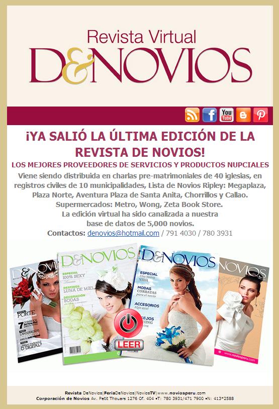 revista virtual DE NOVIOS