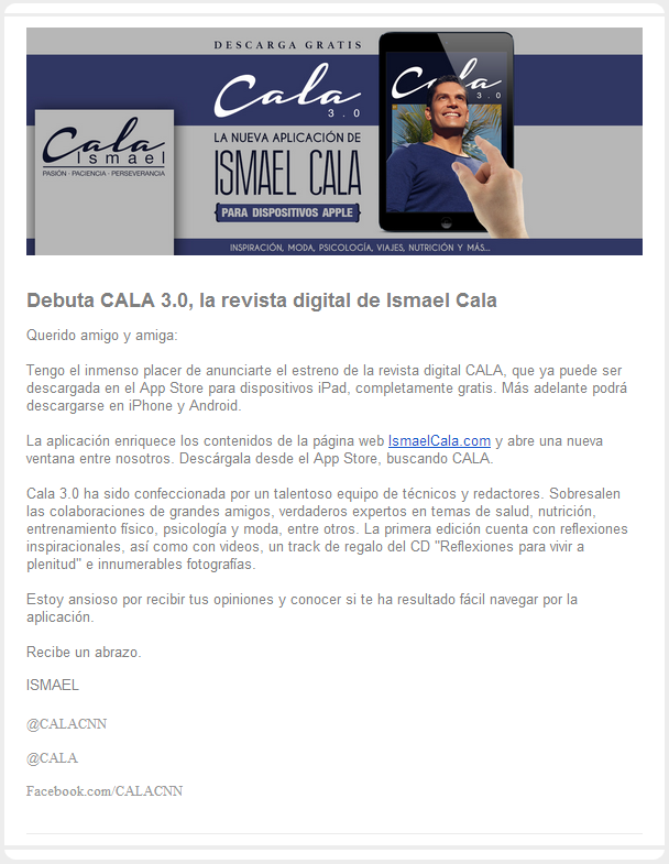 newsletter cala 1