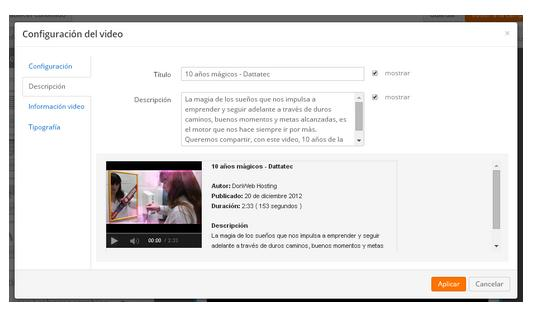 agregar videos en email marketing