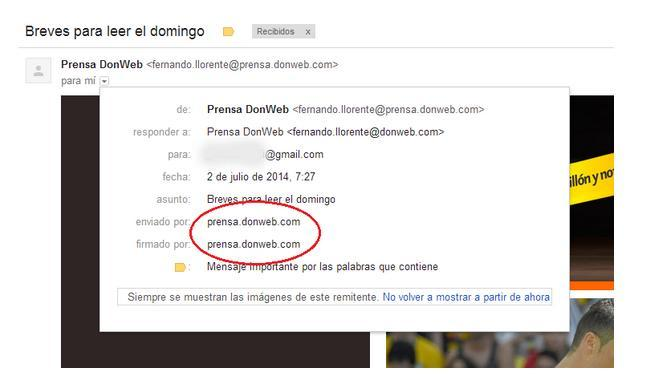 configuracion path return email marketing