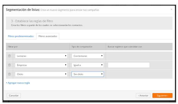segmentacion de datos campañas email marketing