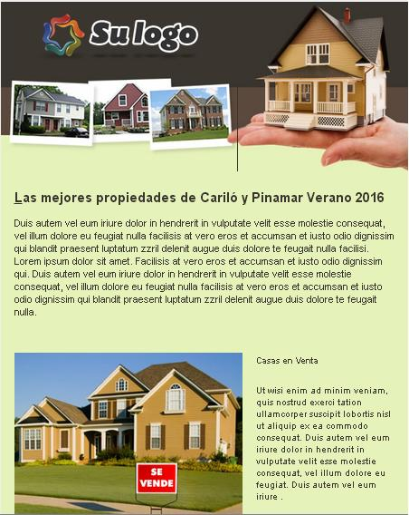 template de email marketing para inmobiliaria