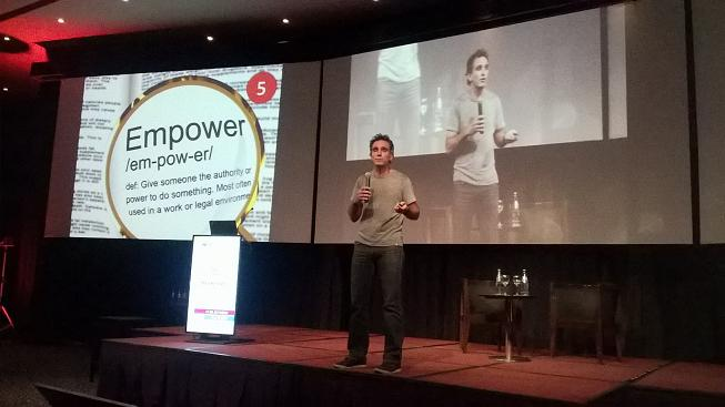 Tito Loizeau en Pensemos en Marketing 2015 - Rosario - Sumemos Experiencia