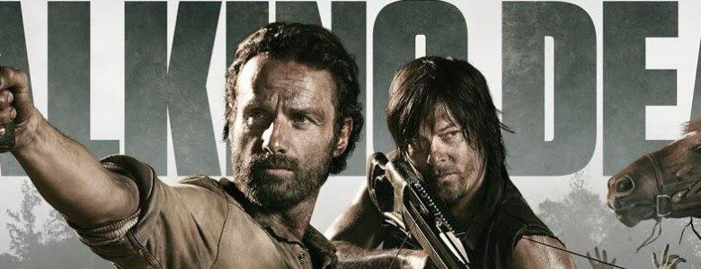 el liderazgo en the walking dead rick y daryl