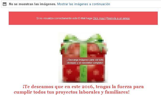 resolver email con imagenes bloqueadas