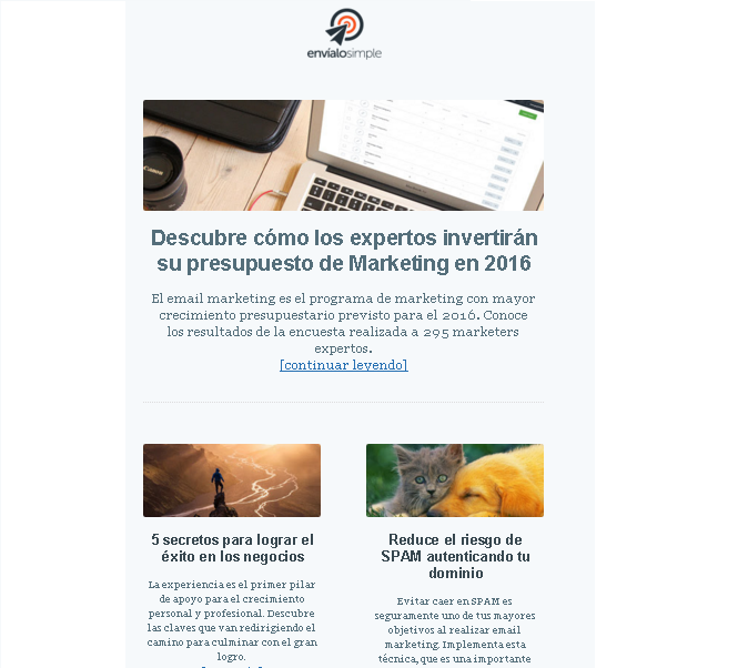 herramientas de email marketing envialosimple