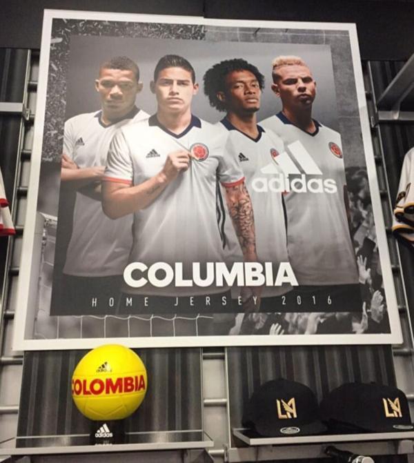 columbia en lugar de colombia publicidad adidas