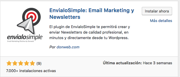 plugin de email marketing para wordpress