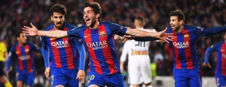 gol de Sergi roberto 6 a 1 Barcelona PSG