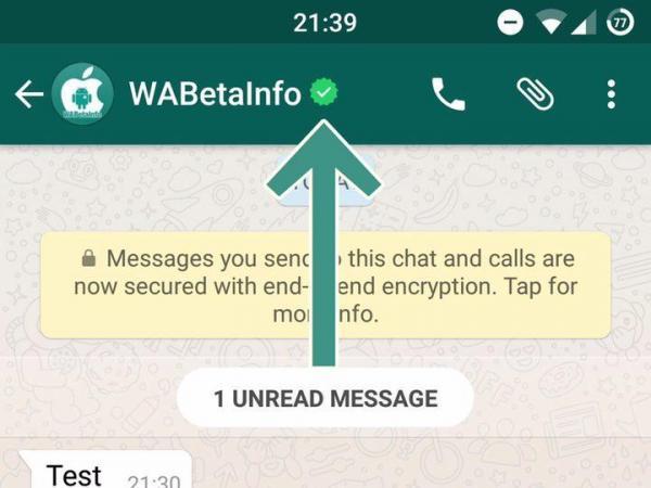 obtener insignia de whatsapp