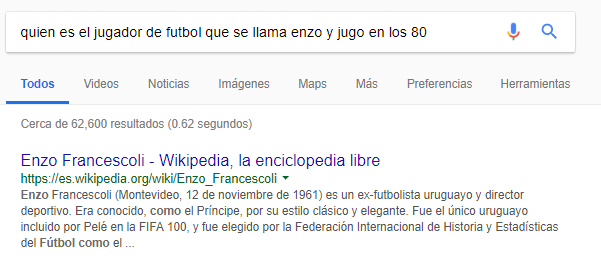 ejemplo rankbrain de Google