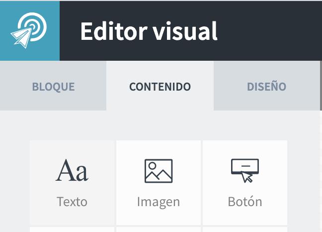 Dirígete al editor visual