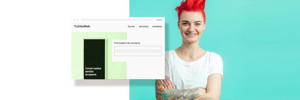 Crea una web para captar suscriptores